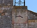 Fuentecén, Iglesia de San Mamés Martir, 04, reloj.jpg