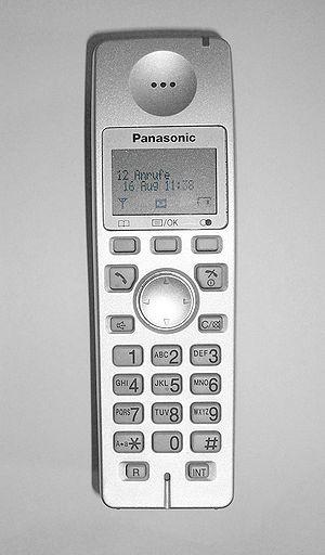 Panasonic DECT Telephone, Wireless telephone