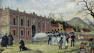 Timeline of Mexican history - Execution of Morelos