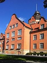 Fil:Fysikum Uppsala detalj.JPG
