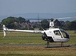 G-TGRC Robinson R22 Helicopter Tiger Aviation Ltd (35455432383).jpg