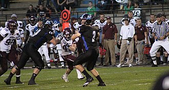 Grand Valley State Lakers football - Image: GVS Uvs WTA&M
