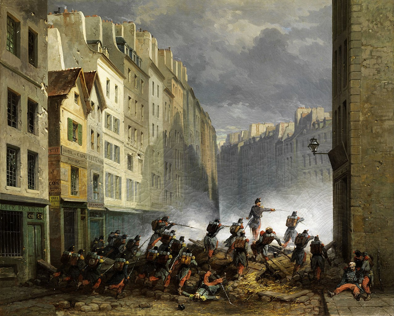 painterly pleasant french revolution - HD1276×1024