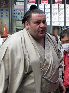 Gagamaru Masaru Georgian sumo wrestler