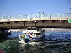 Galata bridge and Ferry,ガラタ橋,イスタンブール - panoramio.jpg
