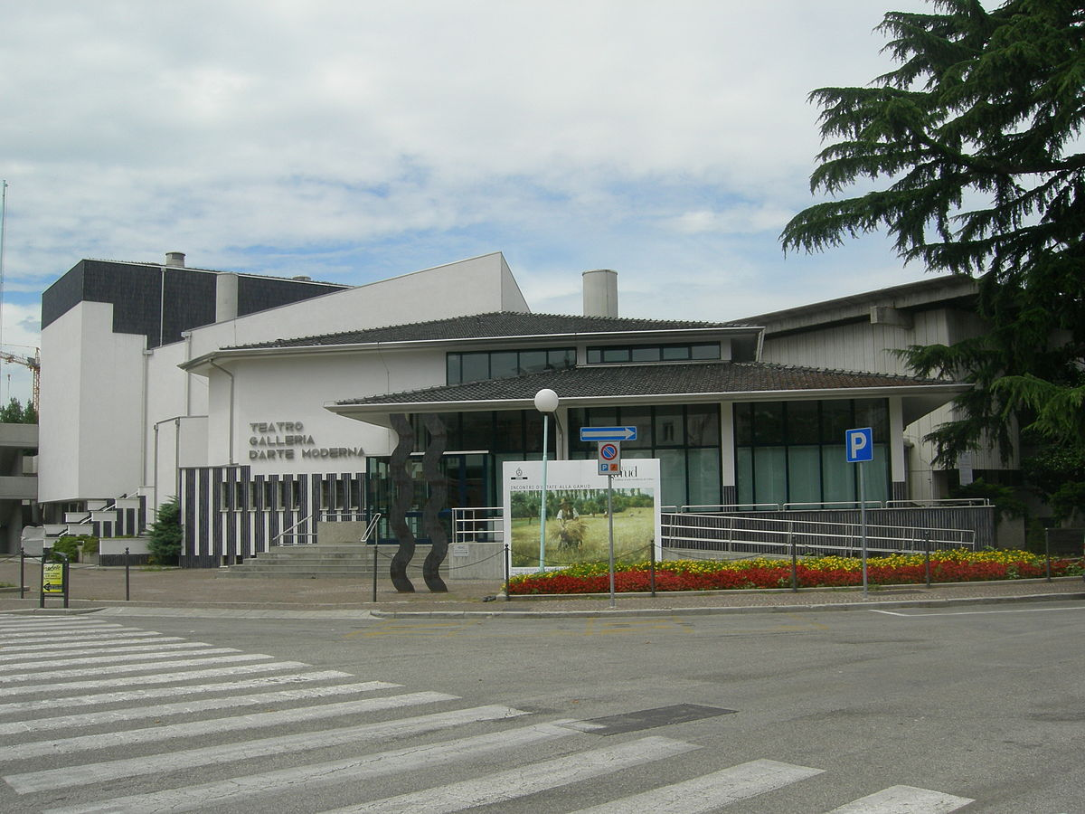 Galleria d 39 arte moderna di udine wikipedia for Casa moderna udine