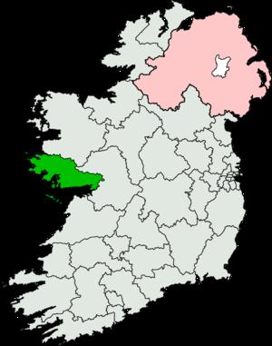 Galway West (Dáil Éireann constituency) - Image: Galway West (Dáil Éireann constituency)