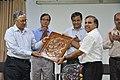 Ganga Singh Rautela Receives Retirement Gift From Anil Shrikrishna Manekar - NCSM - Kolkata 2016-02-29 1678.JPG