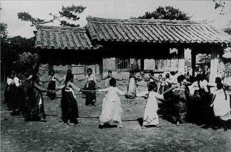 Ganggangsullae - Ganggangsullae, 1891-1930