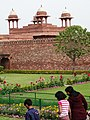 Garden View in Palace - Fatehpur Sikri - Uttar Pradesh - India (12635006375).jpg