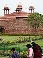Garden View in Palace - Fatehpur Sikri - Uttar Pradesh - India (12635006375).jpg