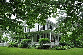 Edwin Arlington Robinson - The Edwin Arlington Robinson House in Gardiner, Maine