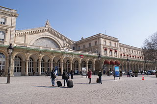 Gare de lEst One of Pariss six main railway stations