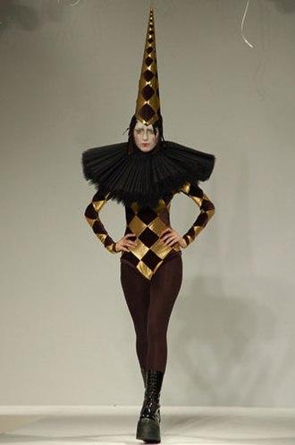 British Fashion Council - Gareth Pugh fashion at London Fashion Week 2006