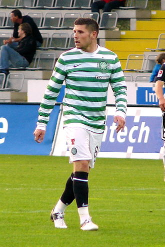 Gary Hooper - Hooper playing for Celtic in 2012