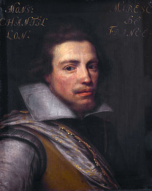 Siege of Saint-Omer - Portrait of Gaspard de Coligny (1584-1646), count of Châtillon sur Loing, by Jan Antonisz. van Ravesteyn.