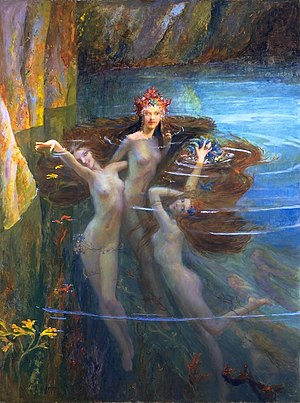 Gaston Bussière - Image: Gaston Bussiere — The Nereides