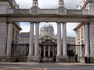 Government of Ireland - Government Buildings in Dublin.