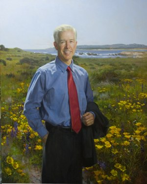 Gray Davis - Official state portrait