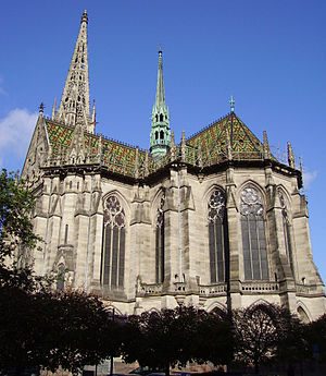 Gedächtniskirche (Speyer) - Gedächtniskirche from the south-east
