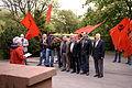 Gedenkfeier KPL um Sowjeteschen Éieremonument, 9. Mee 2015-107.jpg
