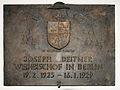 Gedenktafel Hinter der Katholischen Kirche 3 (Mitte) Josef Deitmer.jpg