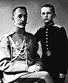 General Shcherbachev with his son.jpg