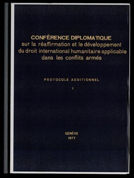 File:Geneva Conventions Protocol additional I of 1977-06-08 (en) - CH-BAR - 29356589.pdf