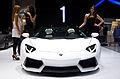Geneva MotorShow 2013 - Lamborghini Aventador white 1.jpg