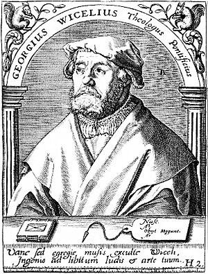 Georg Witzel - Georg Witzel (engraving 16th century)