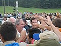 George W. Bush visit during the 2005 National Scout Jamboree.jpg