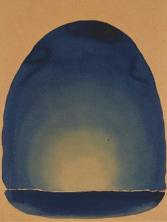 Georgia O'Keeffe, Light Coming on the Plains No. II, 1917, CMAA