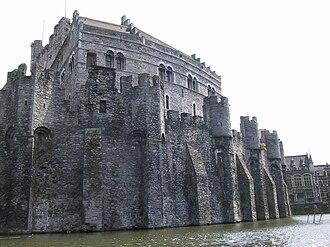 Revolt of Ghent (1449–53) - Gravensteen castle, Ghent