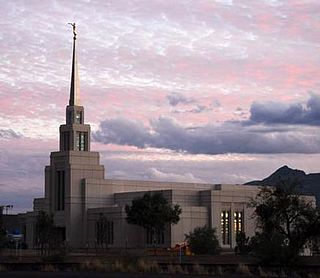 Gila Valley Arizona Temple a temple of The Church of Jesus Christ of Latter-day Saints (LDS Church)