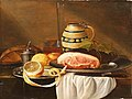 Gilliam Dandoy - Still life with a lemon and a white tablecloth.jpg