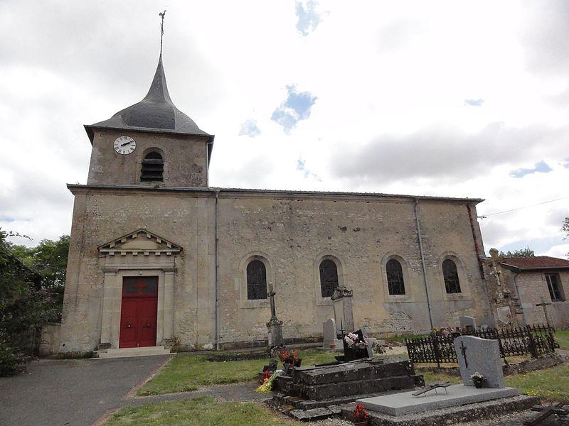 Gimécourt (Meuse) église