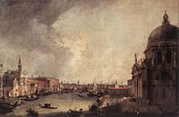 Giovanni Antonio Canal, il Canaletto - Entrance to the Grand Canal - Looking East - WGA03858.jpg