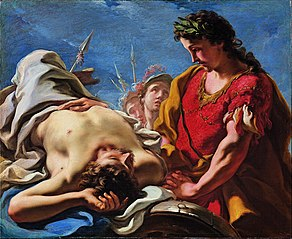 Alexander at the Corpse of the Dead Darius