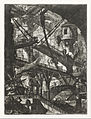 Giovanni Battista Piranesi - The Drawbridge, plate VII from the series Carceri d'Invenzione - Google Art Project.jpg