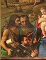 Giovanni bellini, madonna tra i ss. g. battista, francesco, girolamo, sebastiano e un committente, 1507, 03.jpg