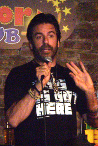 Greg Giraldo i New Brunswick i New Jersey 24 september 2010.