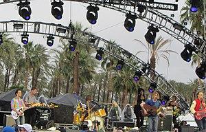 Girls (band) - Girls playing at Coachella.