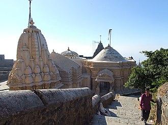 Vastupala - Vastupala-Vihara on Girnar hill
