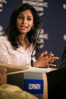 Gita Gopinath economist and chief economist of the IMF