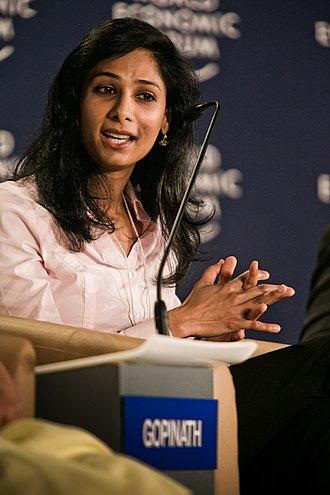 Gita Gopinath - Image: Gita Gopinath at the World Economic Forum on India 2012