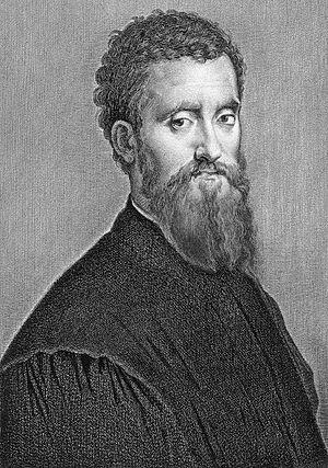 Giulio Romano - Giulio Romano, selfportrait