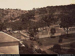 Glen Osmond, South Australia - Glen Osmond around 1869.