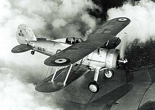 Gloster Gladiator 1930s fighter aircraft