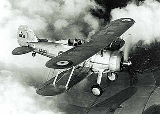 Gloster Gladiator - Gloster Gladiator in pre-war RAF markings