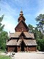 Gol Stave Church - Nog een staafkerk. Die dingen zijn ouder dan je in de eerste instantie vermoed. - panoramio.jpg